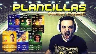 FIFA 14 |UT| Plantillas HIGH COST - Pelocho, Neymar, CR7, Messi, Bale, Silva