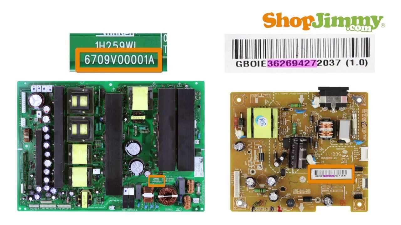Tv Part Number Identification Help Guide For Lg  U0026 Zenith