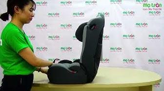 Ghế ngồi xe hơi cho em bé Fedora New C2 - metron.vn