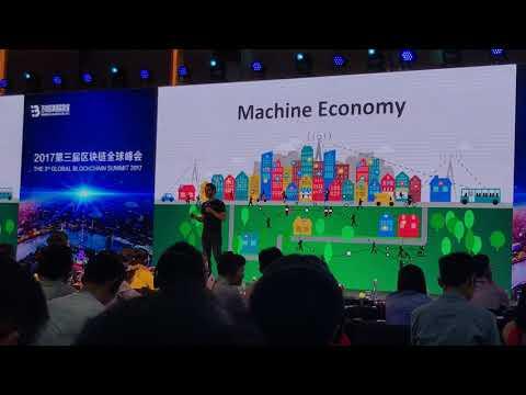 IOTA  Dominik Schiener The 3rd Global Blockchain Summit 2017 Shanghai