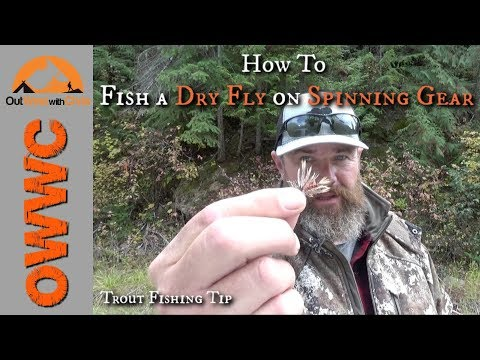 How To Fish A Dry Fly On Spinning Gear - St. Joe River Trout Fishing