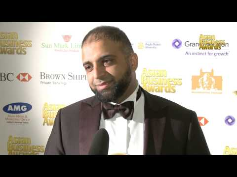 Asian Business Entrepreneur of the Year Award 2013 in Association with Waymade plc