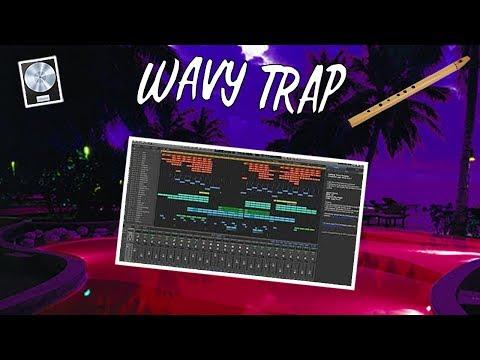 MAKING A WAVY TRAP FLUTE BEAT FROM SCRATCH!!! (Logic Pro Beat Making)