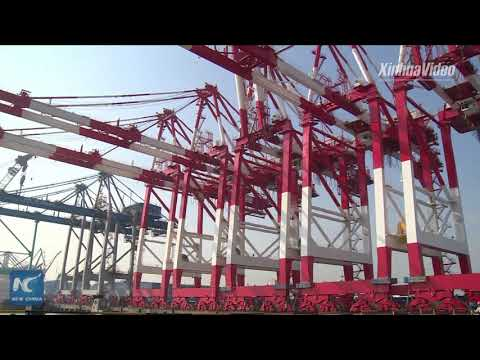 "Automated container terminal ""a new growth engine"" for Zhenhua Heavy Industry"