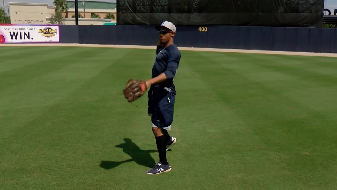 Baseball Basics with Barry Lyons Outfield with Johnny Davis