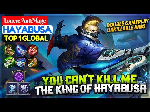 You Can't Kill Me, The King Of Hayabusa [ Top 1 Global Hayabusa ] Louvre AntiMage Hayabusa