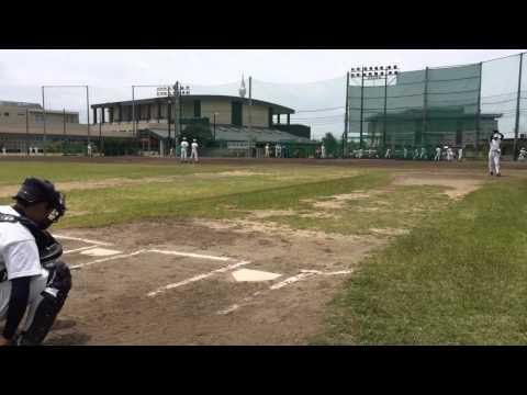 PL学園野球部ピッチング練習