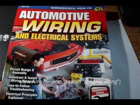 automotive wiring and electrical systems book a must have youtube rh youtube com car wiring diagram books Best Book On Electrical Wiring