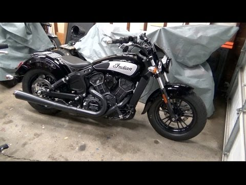 Project 2016 Indian Scout Sixty Part 5 (National Cycle Solo Rack Install)