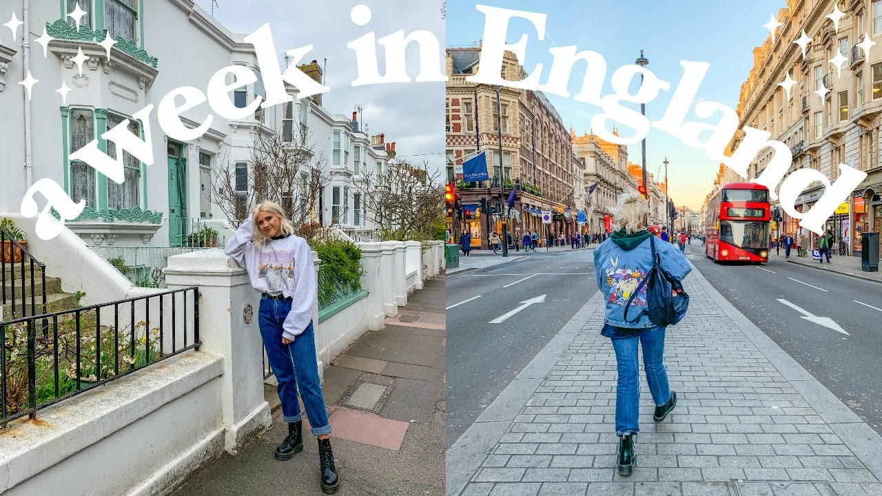 [VIDEO] - Spring Thrifted Outfits of the Week | what i wore in England ! 6