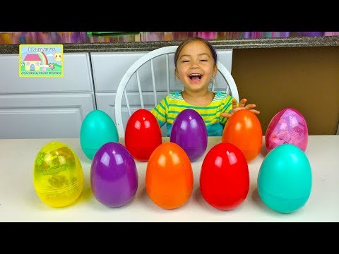 Thumbnail: SURPRISE EGGS MATCHING CHALLENGE GAME Surprise Toys SpongeBob Minions + Learn Colors + Kid-Friendly