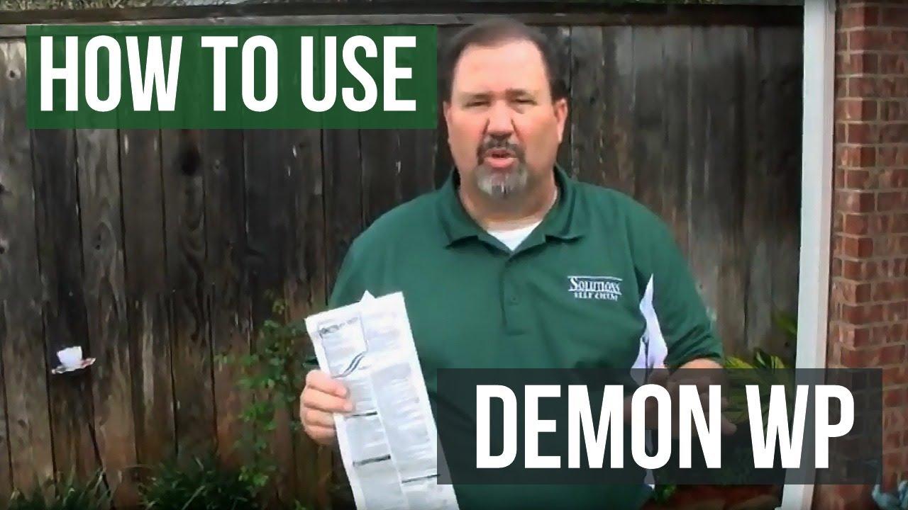 How Cypermethrin (Demon WP) Works To Eliminate Bugs