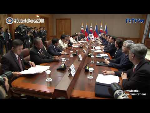 Bilateral Meeting with President Moon Jae-in 6/4/2018