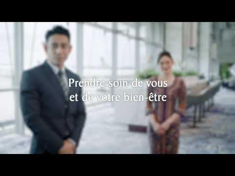 Voyager en toute sécurité | Singapore Airlines (30s)