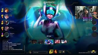 Britb y Noche de league of legends con la comunidad 2/1/18