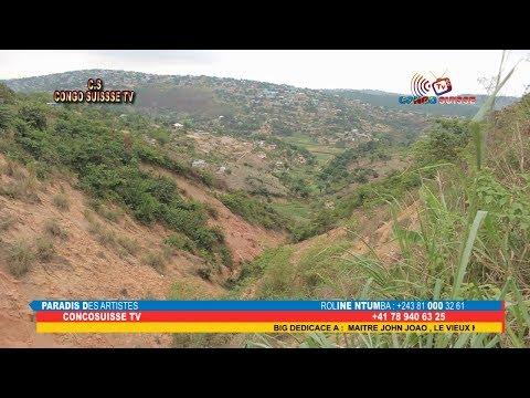 KIN-RDC: EROSION NA MT NGAFULA,POPULATION TRES ENCOLERE CONTRE LE GOUVERNEMENTS