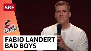 Fabio Landert: Frauen stehen auf Bad Boys | Comedy Talent Show mit Lisa Christ | SRF Comedy