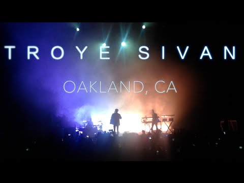 Seanaka   Troye Sivan Concert Live Blue Neighborhood Tour 2016