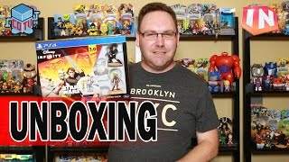 Disney Infinity 3 Unboxing + Toy Box Takeover + Power Discs