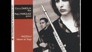 Oblivion - Astor Piazzolla. Cécile Daroux & Pablo Márquez