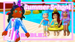 My Bestfriend RUINED My Summer Vacation... (Roblox Roleplay Story)