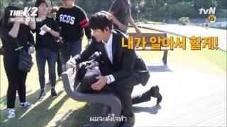 Video ThaiSub  [BTS] THE K2 CPR Kiss Scene Making (Ji Chang Wook & Yoona) download MP3, 3GP, MP4, WEBM, AVI, FLV Maret 2018