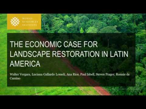 The Economic Case for Landscape Restoration in Latin America