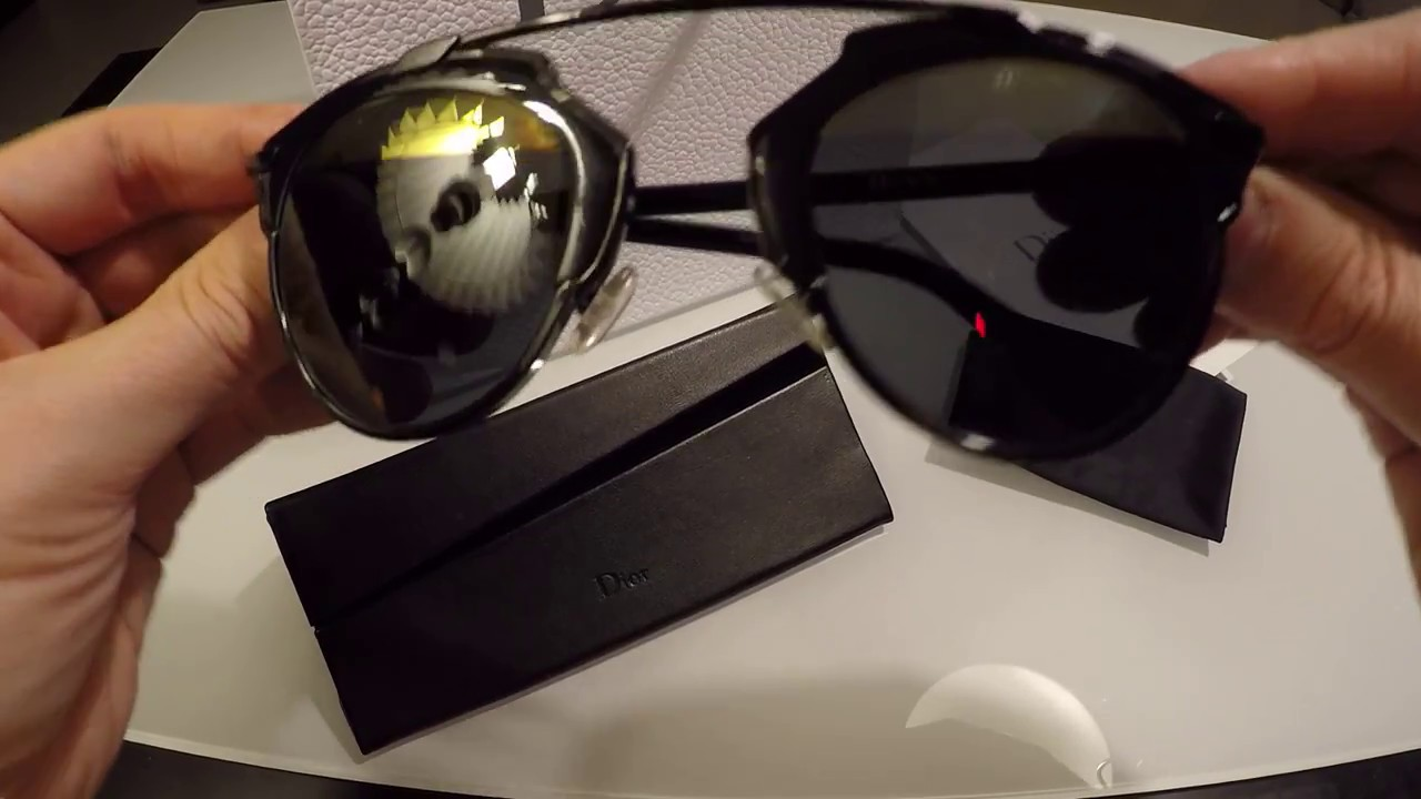 694ed85716c DIOR SoReal Sunglasses unboxing   review