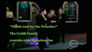 Watch Crabb Family Thank God For The Preacher video