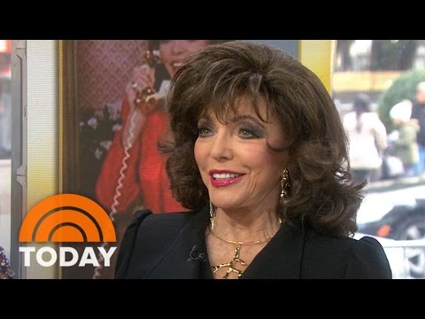 Joan Collins' Wardrobe On Auction Block: Dress Like You're On 'Dynasty' | TODAY