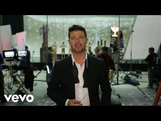 Robin Thicke - Feel Good (Behind The Scenes)