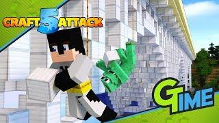 ZANDER und ICH planen ein GEHEIMES BAUPROJEKT! - Minecraft Craft Attack 5 #34   Gamerstime