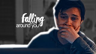 falling around you [simon & bram] || love, simon