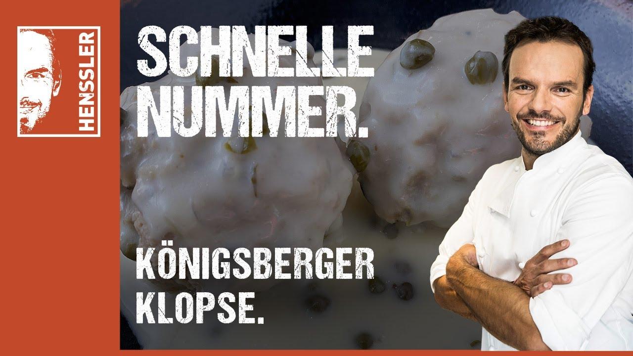 Schnelles Königsberger Klopse-Rezept à la Grill den Henssler von Steffen Henssler