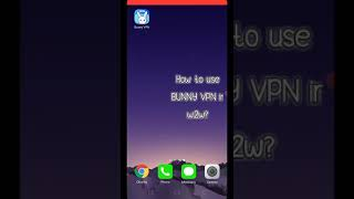 How to use BUNNY VPN in w2w? 1 minute tutorial screenshot 5