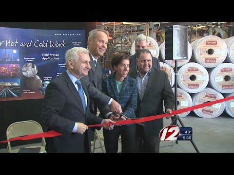 Ribbon Cutting Held Monday At Aspen Aerogels