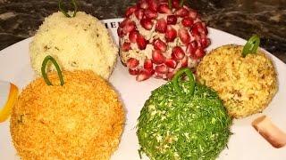"""Новогодний салат  """" Ёлочные шарики"""". Закуска на праздничный стол."""