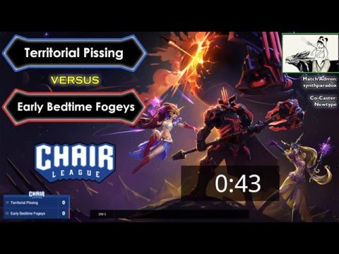 Chair League: Territorial Pissing vs Early Bedtime Fogeys [4/12/2016]