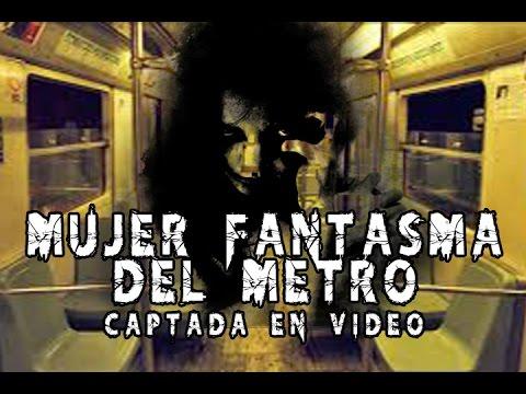 Mujer Fantasma del Metro Captada en Video l Pasillo Infinito Documentos