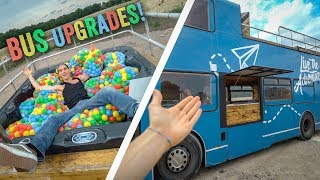 MY NEW BUS UPGRADES!