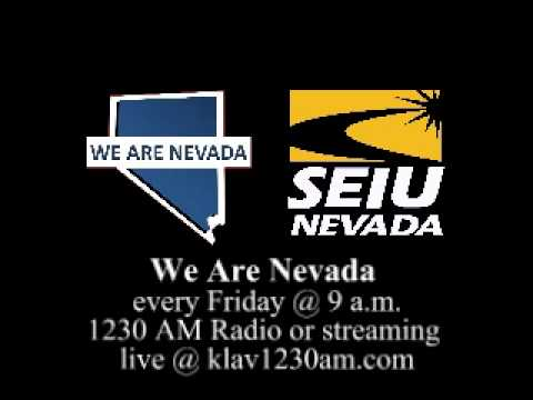 We Are Nevada Broadcast Friday August 3, 2012