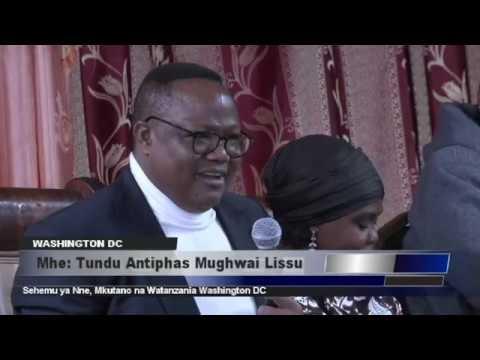Mkutano wa Tundu Lissu Washington DC - Sehemu ya Nne