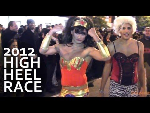 BEST VIEWS of 2012 High Heel Race in D.C. (HI-DEF) Gay Halloween