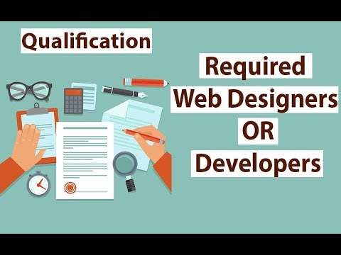 How much minimum Qualification Required to Become Web Designer or Web Developer in HIndi