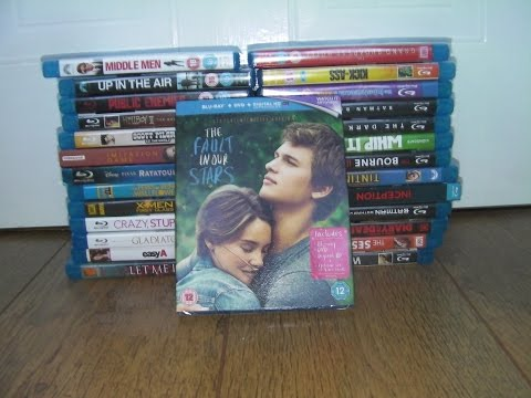 The Fault In Our Stars Blu Ray Unboxing (Little Infinities Edition)