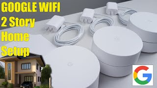 Google WiFi - Setup and Testing In a Two Story Home