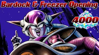 Bardock & Freezer Banner 4000 Zeitkristalle Opening! ;D | Dragon Ball Legends Deutsch