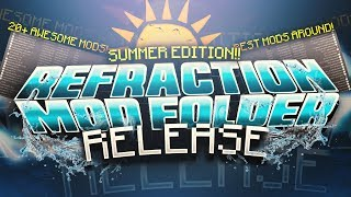 SUMMER MOD FOLDER RELEASE - 20 Of The BEST Mods For Hypixel \u0026 Minecraft PvP