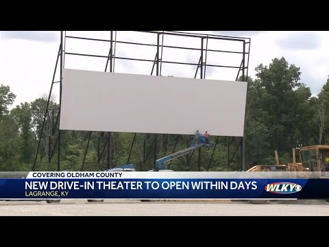 New Drive-in Theatre To Open Within Days