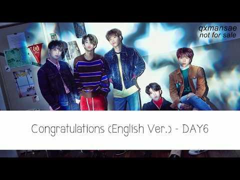[KARAOKE/THAISUB] Congratulations (English Ver.) - DAY6